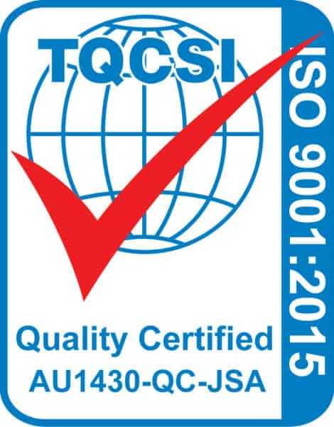 TQCSI ISO 9001 2015 Certification Mark