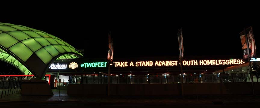 Take a stand against homelessness