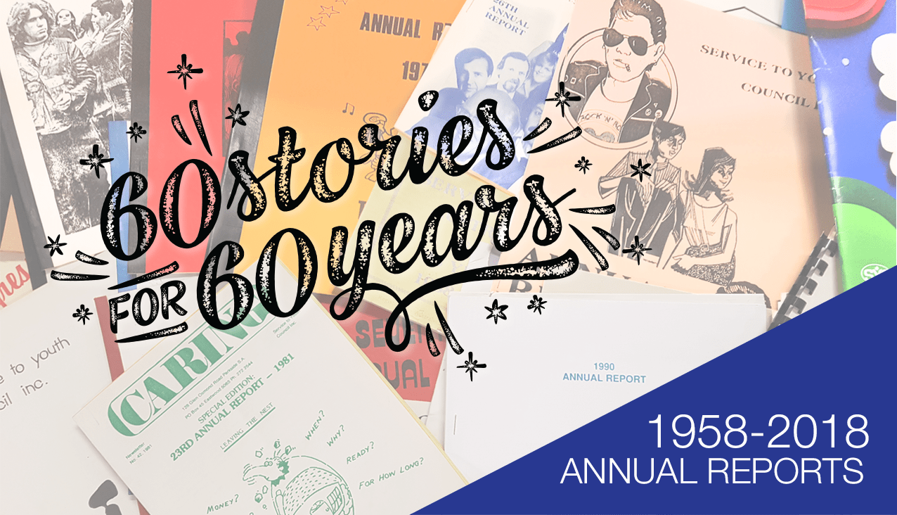 60 stories annual reports