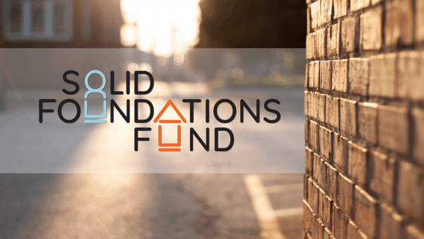 Solid Foundations Fund logo on house