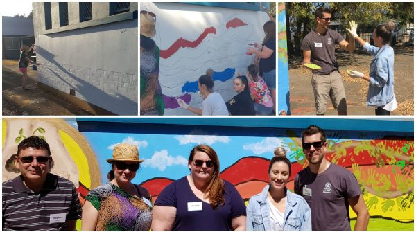 Medium Collage of Telstra Volunteering Day