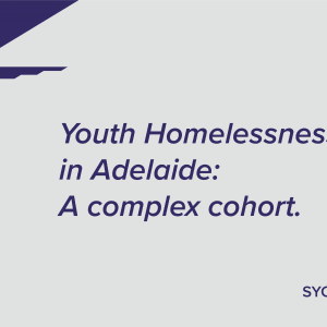 cover: Youth Homelessness in Adelaide: A complex cohort