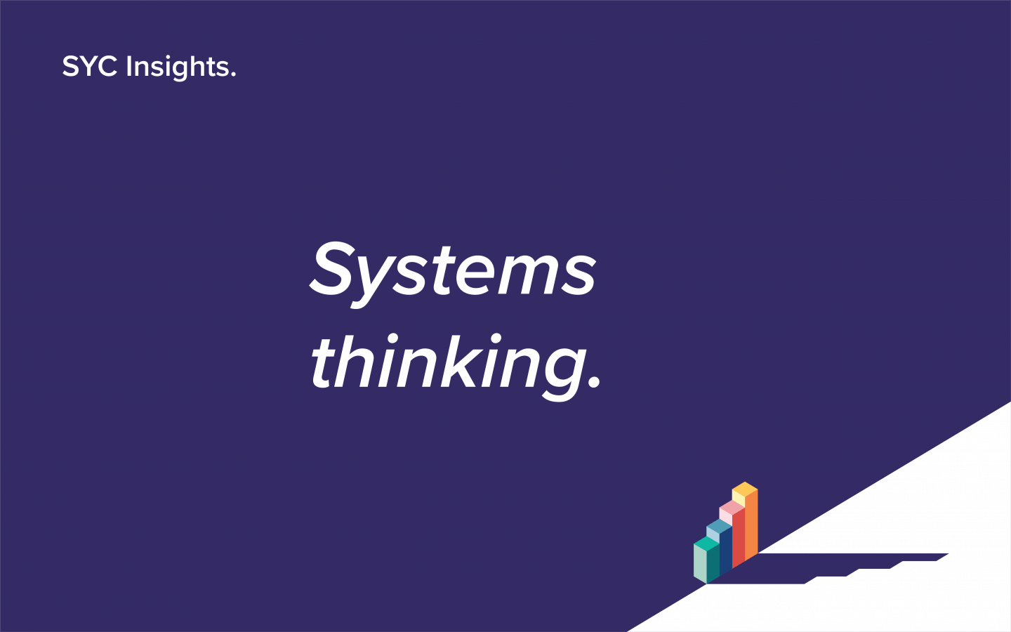 cover image SYC Insights Systems Thinking