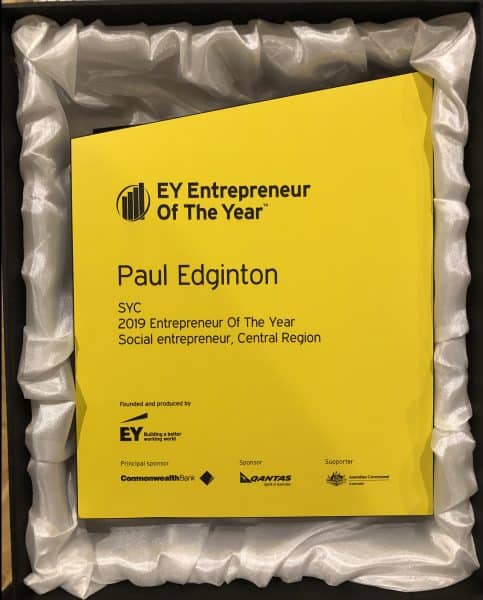EOY2019 Award Plaque