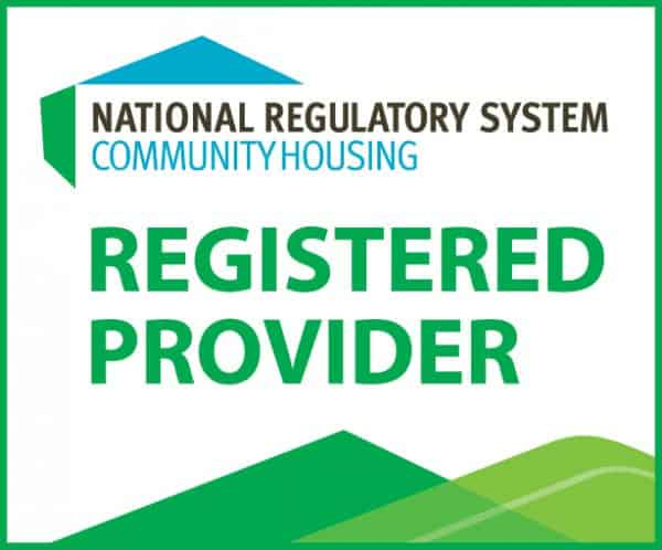 NRSCH Registered Community Housing Provider Logo
